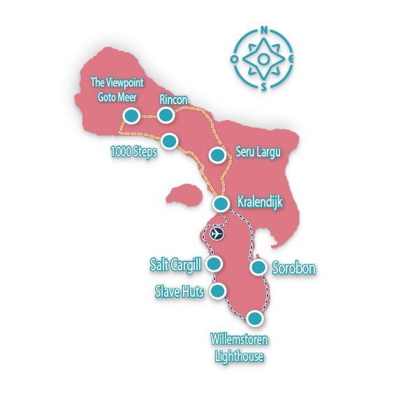 Mapa Bonaire